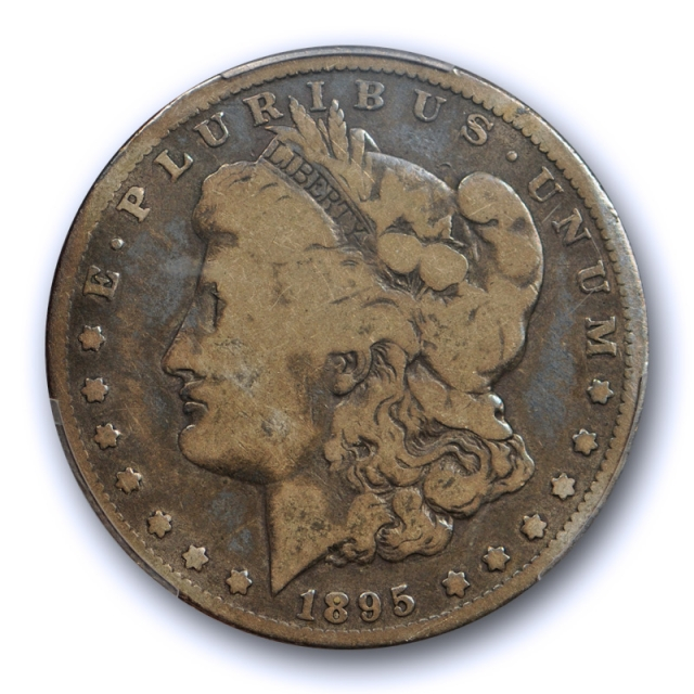 1895 O $1 Morgan Dollar PCGS G 6 Good to Very Good New Orleans Mint Key Date