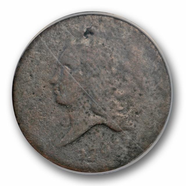 1793 1/2C Liberty Cap Half Cent ANACS FR 2 Fair Grade Early American Copper