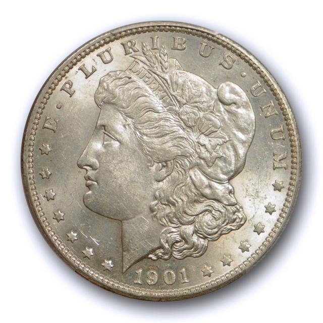1901 S $1 Morgan Dollar PCGS MS 62 Uncirculated Better Date Tough Grade Coin !