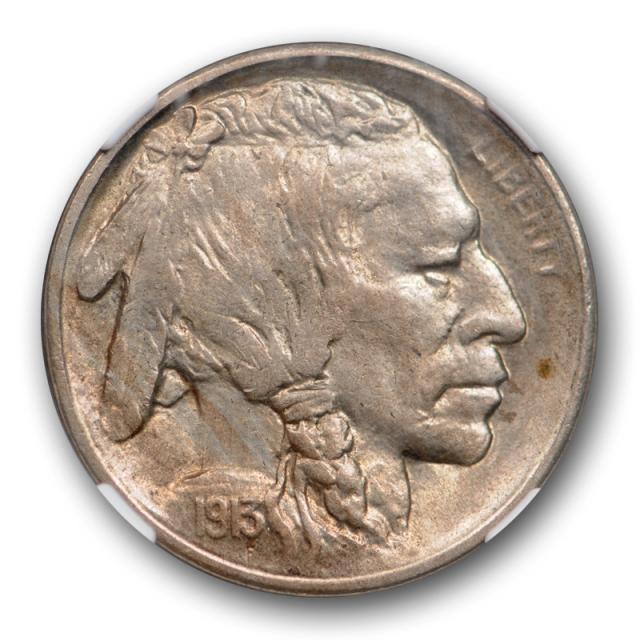1913 S 5c Buffalo Head Nickel Type Two NGC MS 63 Uncirculated TY 2 Nice !