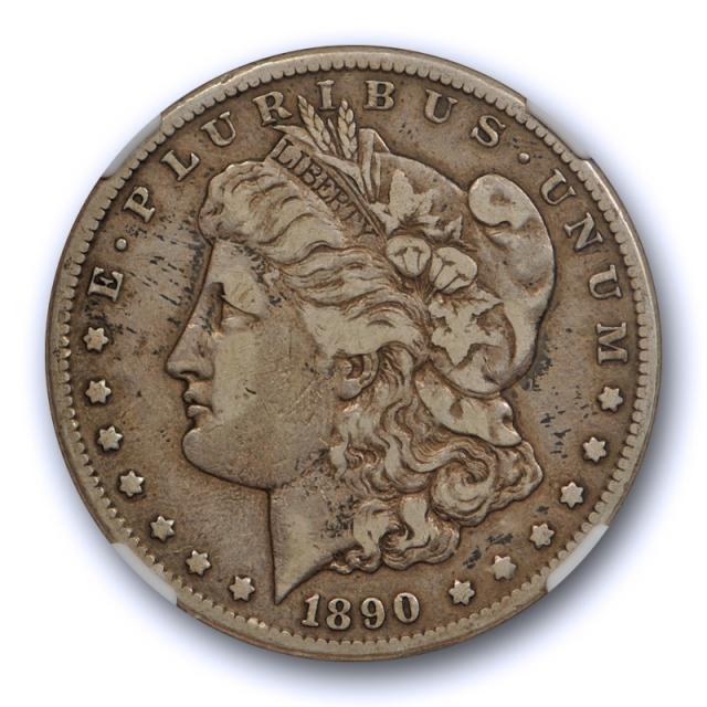 1890 CC $1 Morgan Dollar NGC VF 25 Very Fine to Extra Fine Carson City Mint Original