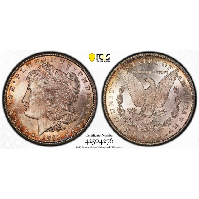 1878 CC $1 Morgan Dollar PCGS MS 64 Uncirculated Carson City CAC Approved !
