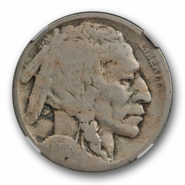 1918/7 D 5c Buffalo Head Nickel NGC G 4 Good 1918/17 D Overdate Variety Coin