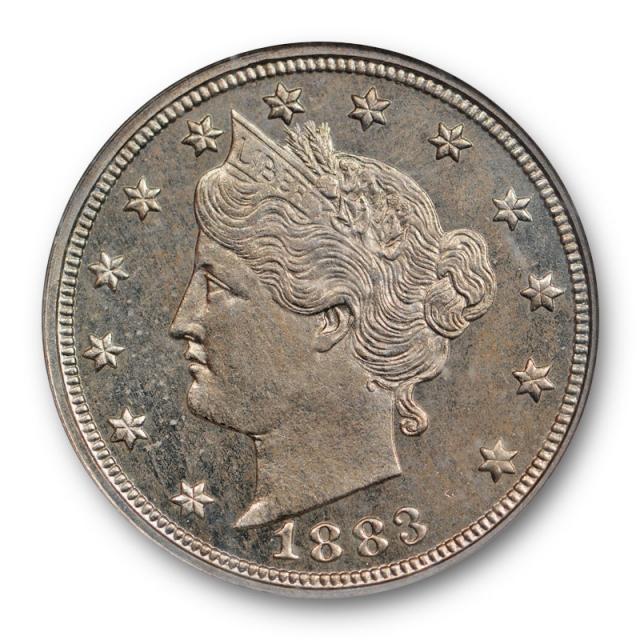 1883 No Cents Liberty Head Nickel NGC PF 64 Proof PR Low Mintage !