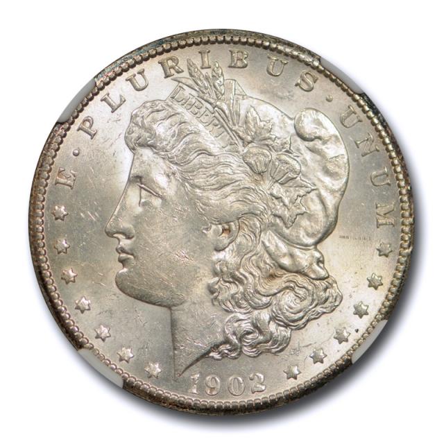 1902 S $1 Morgan Dollar NGC AU 58 About Uncirculated Better Date Original