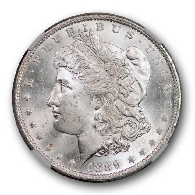 1889 O $1 Morgan Dollar NGC MS 64+ Uncirculated CAC Approved Blast White Nice !