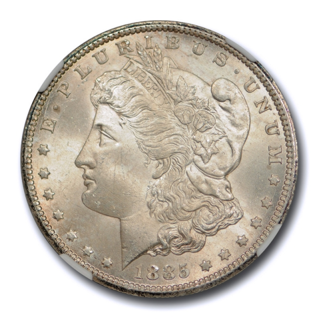 1885 CC $1 Morgan Dollar NGC MS 65 Uncirculated CAC Approved Nice ! Cert#0003