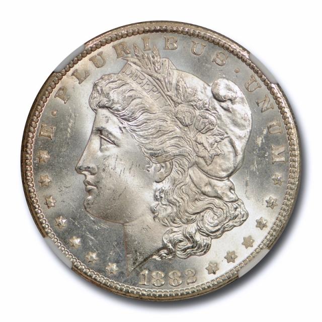 1882 CC $1 Morgan Dollar NGC MS 64 Uncirculated Carson City Lustrous