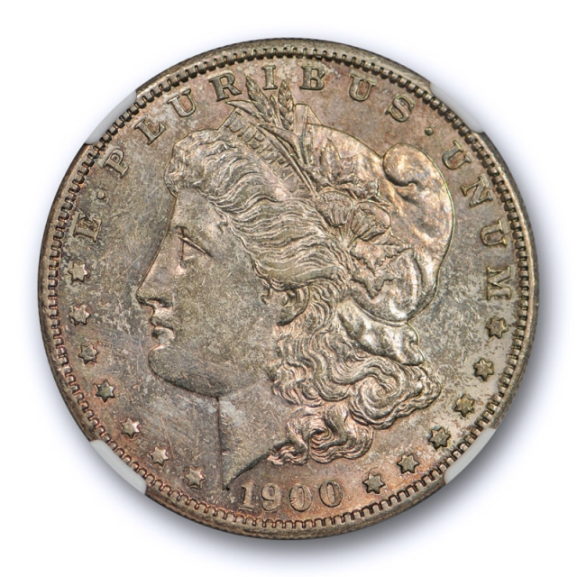 1900 S $1 Morgan Dollar NGC AU 58 About Uncirculated Better Date Original Toned