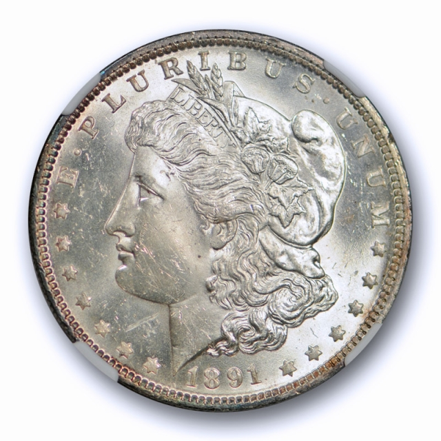1891 O $1 Morgan Dollar NGC MS 64 Uncirculated Better Date New Orleans Mint