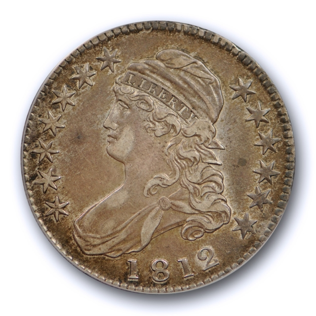 1812 50C Capped Bust Half Dollar ANACS EF 40 Extra Fine XF Looks Better Nice 1