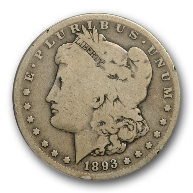 1893 S $1 Morgan Dollar ANACS G 6 Good to Very Good Key Date Original Nice !