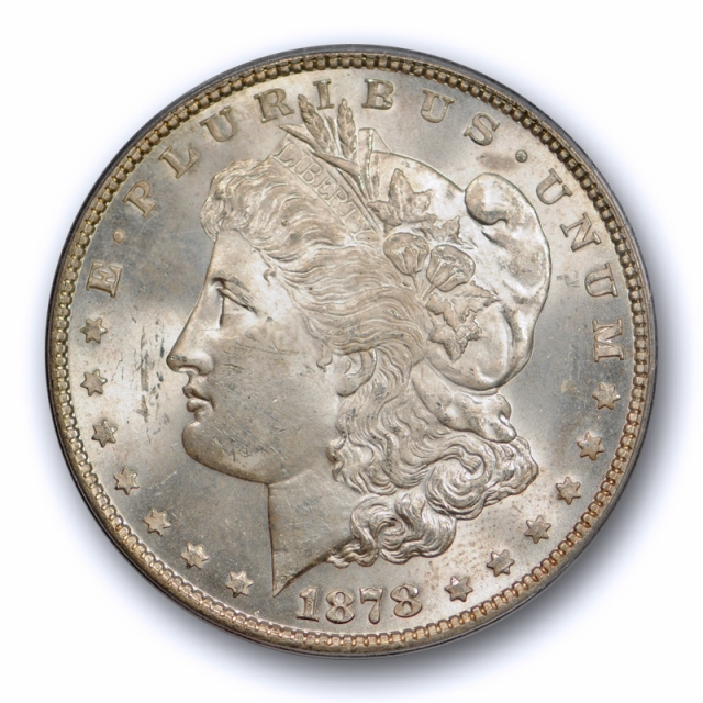 1878 7TF $1 Reverse of 1878 Morgan Dollar PCGS MS 64 Uncirculated Original Cert#1946