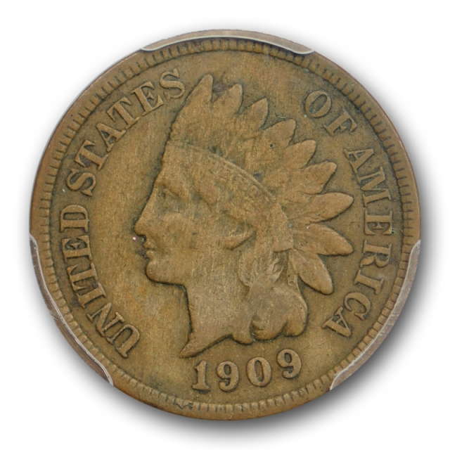 1909 S 1C Indian Head Cent PCGS F 15 Fine to Very Fine San Francisco Mint Key Date