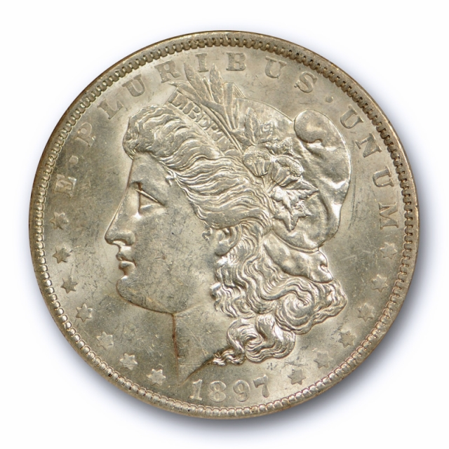 1897 O $1 Morgan Dollar NGC MS 61 Uncirculated New Orleans Mint Tough Date !